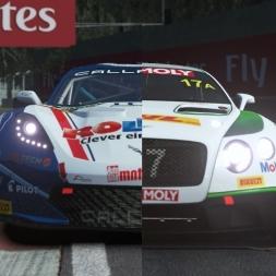 rFactor 2   Calleway Corvette VS Bentley Continental @ Monza