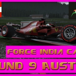 F1 2017 Career Mode Force India - Round 9 Austria - Charge From The Back