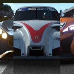 rFactor 2 | Mercedes AMG VS Radical VS McLaren 650s @ Monza