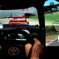 AMS - Ibarra (Yahuarcocha) reverse - Toyotra Supra SGT 500 - 110% AI race