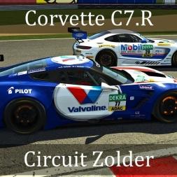 Assetto Corsa: Corvette C7.R // Circuit Zolder
