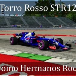 Assetto Corsa: Torro Rosso STR12 // Autódromo Hermanos Rodríguez