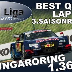 RaceRoom | VTM Liga | 3. Saisonrennen | Best Qualilap | Hungaroring | 1.36,5923