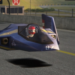 Assetto Corsa F Zero Blue Falcon @ Interlagos 1979