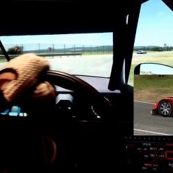 AMS - Automobilista - Mendig Flugplatz Bergschleife - Nissan GT R35 - 100% AI race