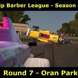 iRacing - UK & I Skip Barber League - Oran Park
