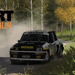 ✅►Dirt Rally Finland Renault R5 Turbo | With T300 Wheel