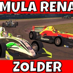 Formula Renault at Circuit Zolder - Slow and Steady