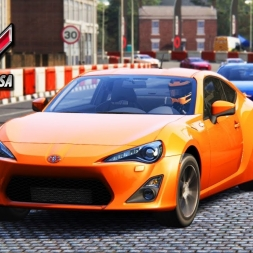Assetto Corsa - Toyota GT86 at Highlands Short (PT-BR)