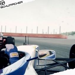 Assetto Corsa Mixed Reality Jacques Villeneuve VS Michael Schumacher Battle at Spa