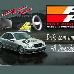 Assetto Corsa  Drift com uma só mão - Oculus Rift- Direct drive Big Mige