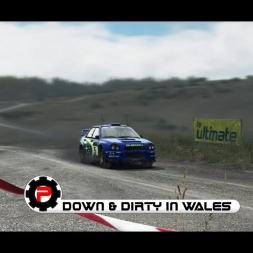 Dirt Rally / Subaru Impreza WRX / Full Welsh Sprint Stage