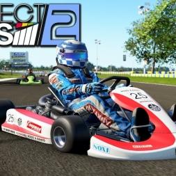 Project CARS 2 Kart at Le Mans Kart Circuit (PT-BR)