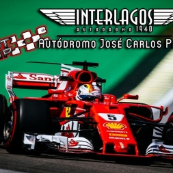 Assetto Corsa * F1 2017 * SF70-H * INTERLAGOS/BRAZIL 1:09:448 [Track + Setup]