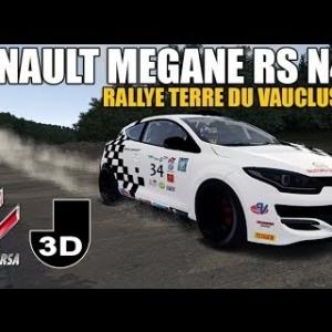 MEGANE RS N4 - RALLYE TERRE DU VAUCLUSE - ASSETTO CORSA