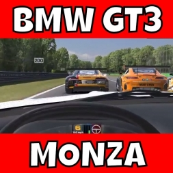 Blancpain Sprint at Monza - I'm Scared