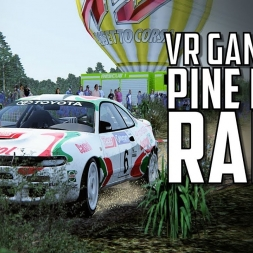 VR  | AND THE CELICA KEPT JUMPING! - VR SPECTATOR / Rally - Assetto Corsa Toyota Celica Group A