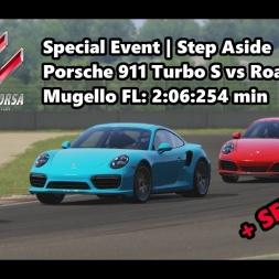 Assetto Corsa   Special Event Step Aside   Porsche 911 Turbo S @ Mugello  FL: 2:06:254 min