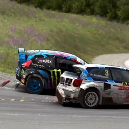 Dirt Rally - FIA World Rally Cross Gameplay - Hell RX Final