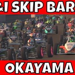 UK&I Skip Barber at Okayama S4 2017 - 58 Car Grid!!!
