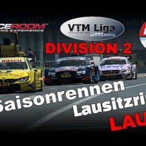 RaceRoom   VTM Liga   Division 2   2. Saisonrennen    Lauf 2   Lausitzring