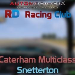 RaceDepartment - Caterham Multiclass @ Snetterton