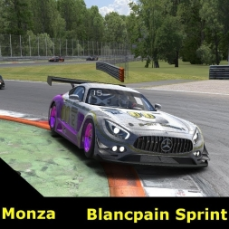 iRacing - Blancpain Sprint Series @ Monza