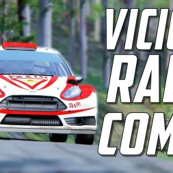 VICIOUS COMBO - Ford Fiesta RS WRC @ Peklo Slovenia Assetto Corsa Rally | VR Spectator | Oculus Rift