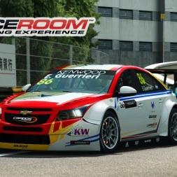 Raceroom WTCC - Chevrolet Cruze at Macau (PT-BR)