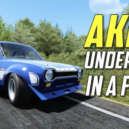 Akina Under 5:20. IN A FORD? - Assetto Corsa [SOCKS CAM]