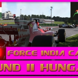 F1 2017 Career Mode Force India - Round 11 Hungary - Promotion
