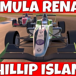 Formula Renault at Philip Island - Can i hold him off for 15 laps?