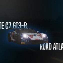Rfactor 2 | Corvette C7 GT3-R - Road Atlanta 2017 lap