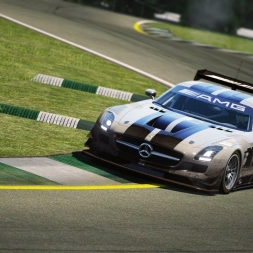 Mercedes SLS AMG GT3 @Road Atlanta