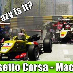 Assetto Corsa - Formula 3 Mod - Macau - How Crazy Is It?