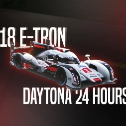 Assetto Corsa | Audi R18 e-Tron - Daytona 24 hours track lap