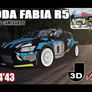 Rally des Camisards - Skoda Fabia R5