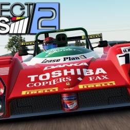 Project CARS 2 - Ferrari 333 SP at Ruapuna Park (PT-BR)