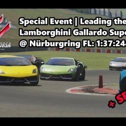 Assetto Corsa | Special Event Leading the herd | Lamborghini Gallardo SL @ Nürburgring 1:37:244 min