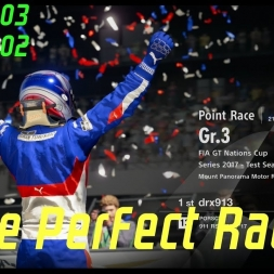 Gran Turismo Sport - The Perfect race! | FIA Nations cup 21/11/17