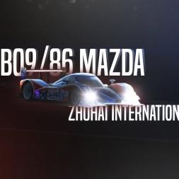 Rfactor 2 | Lola B09/86 Mazda - Zhuhai International Circuit lap