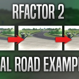 Rfactor 2 | Real Road example
