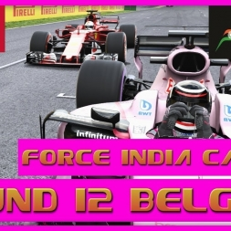 F1 2017 Career Mode Force India - Round 12 Spa - Ferrari Pressure