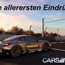 Mini Let's Play - Project Cars 2 - Meine allerersten Eindrücke im Porsche Cayman GT4 @Nordschleife