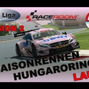 RaceRoom | VTM Liga | Division 2 | 3. Saisonrennen |  Lauf 1 | Hungaroring (LIVE)
