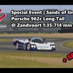 Assetto Corsa | Special Event Sands of time | Porsche 962c LT @ Zandvoort 1:35:714 min