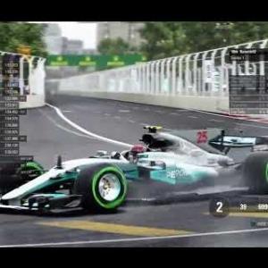 F1 2017: RaceDepartment PS4 F1 Championship - Round 8: Azerbaijan