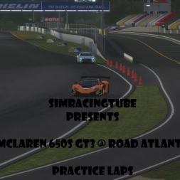 rFactor 2 | McLaren 650S GT3 @ Road Atlanta