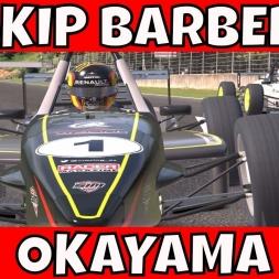 Skip Barber at Okayama International Circuit - Watching the battle