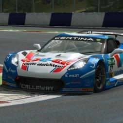 RaceRoom | CALLAWAY CORVETTE C7 GT3-R Impressions & setup